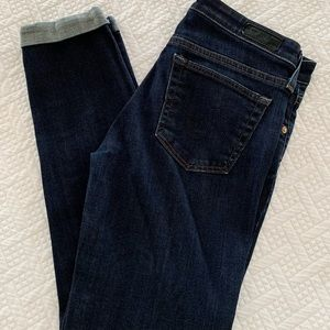 AG Jeans the Stevie Roll up jean